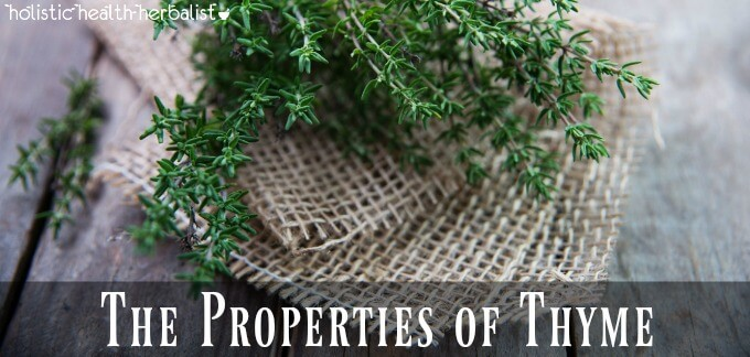The Benefits and Properties of Thyme for Cold and Flu