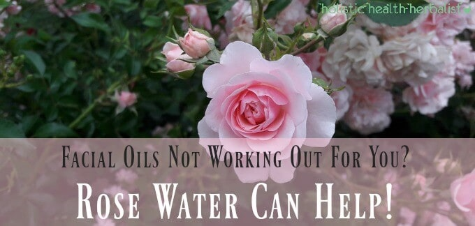 Facial Oils not Working out for You? Rose Water can Help!