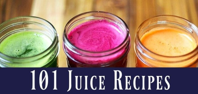 101 juice recipes for clear skin