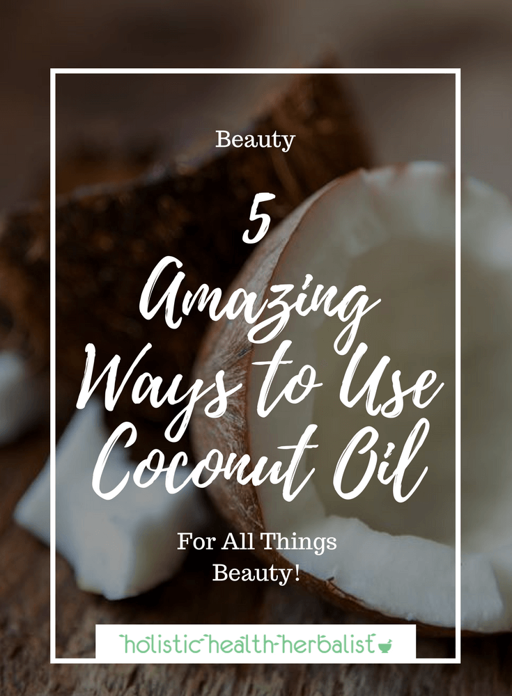 5 Amazing Ways to Use Coconut Oil - Learn how to use coconut oil in ways that can replace 5 products in your beauty routine.