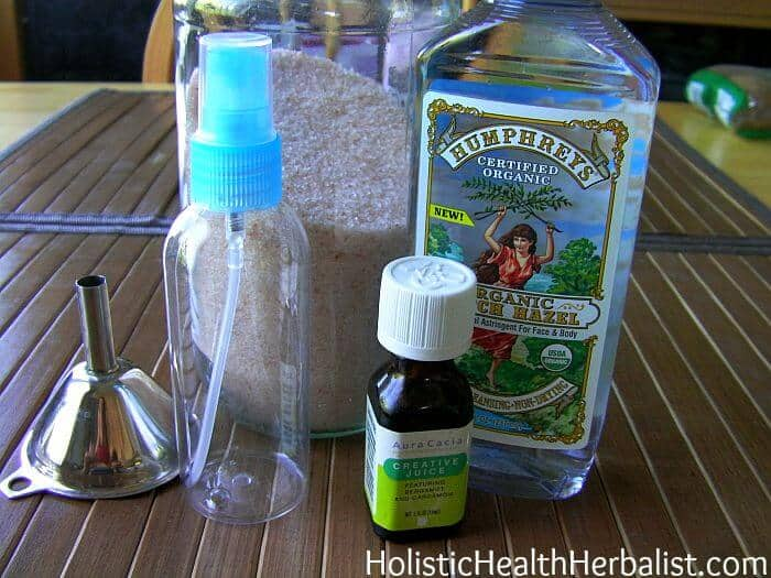 Homemade Salt Spray Deodorant Cream