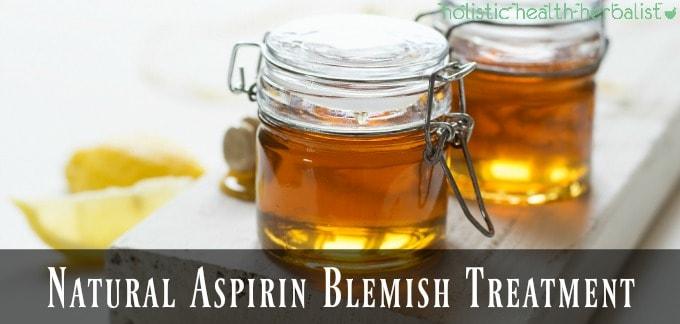 Natural Aspirin Blemish Treatment