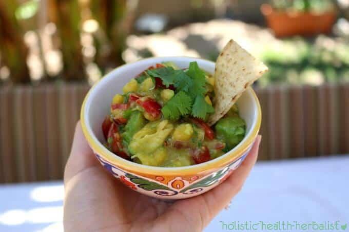 how to make mango avocado salsa