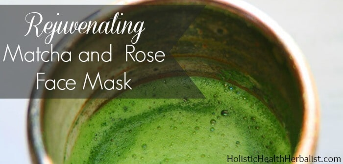 matcha tea face mask recipe