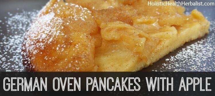 german pancake recipe with apple