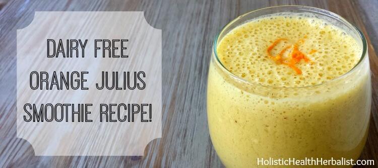 how to make a dairy free orange julius