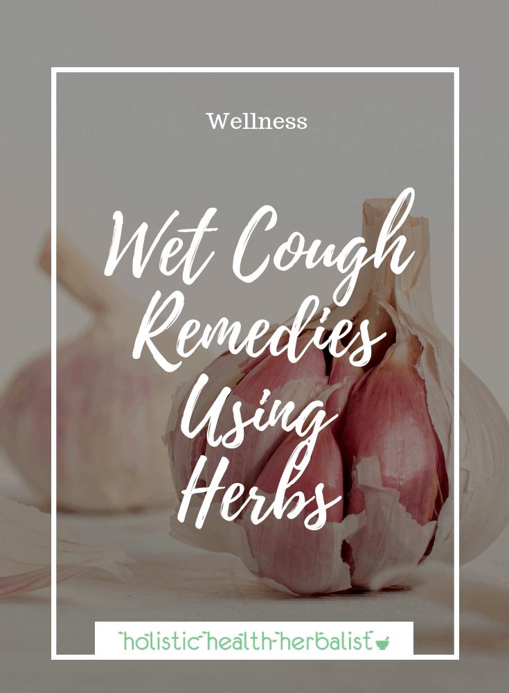 Wet Cough Treatment Using Herbs - Photo of garlic bulbs