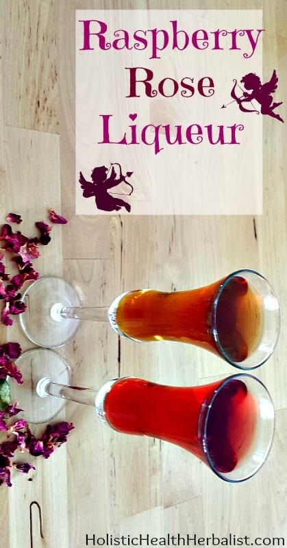 Raspberry Rose Liqueur Recipe - Learn how to make a delicious liqueur with a subtle rosy flavor. The raspberries and Sumo orange zest give this treat a juicy freshness that's perfect served with club soda.