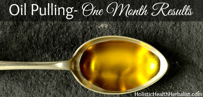 30 day oil pulling challenge