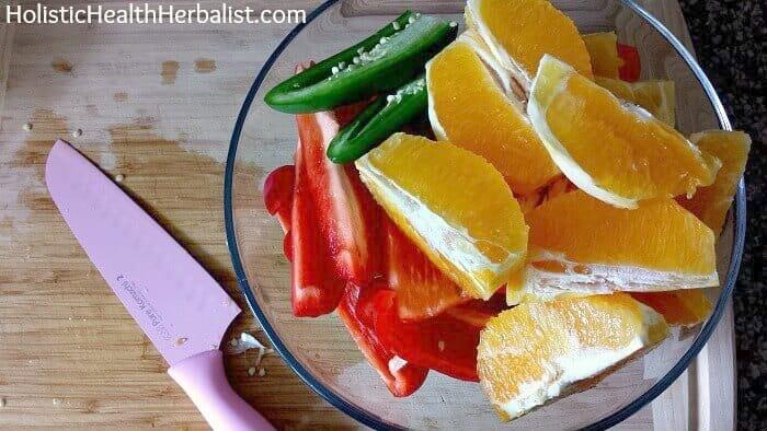 How to make a savory juice.