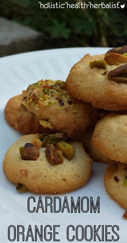 Cardamom Orange Cookies - learn how to make these delicious tiny cooking for any occasion. They're crisp with a light flavor of orange!