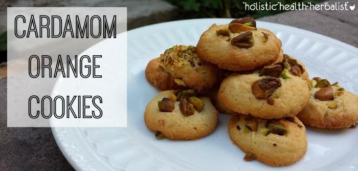 delicious cardamon orange cookie recipe