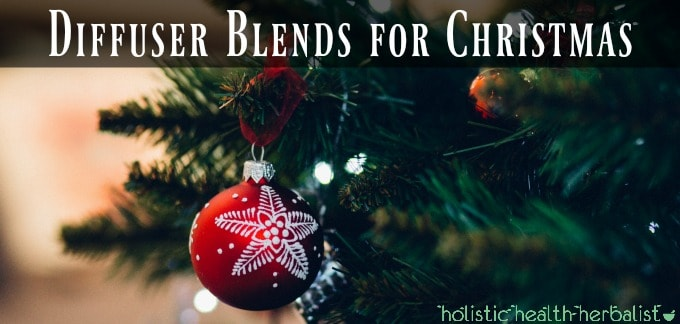 Diffuser Blends for Christmas