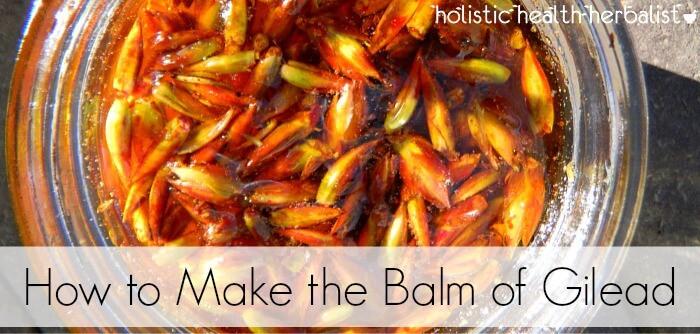 simple balm of gilead recipe