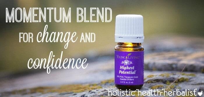 momentum essential oil blend