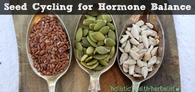 Seed Cycling for optimum hormone balance