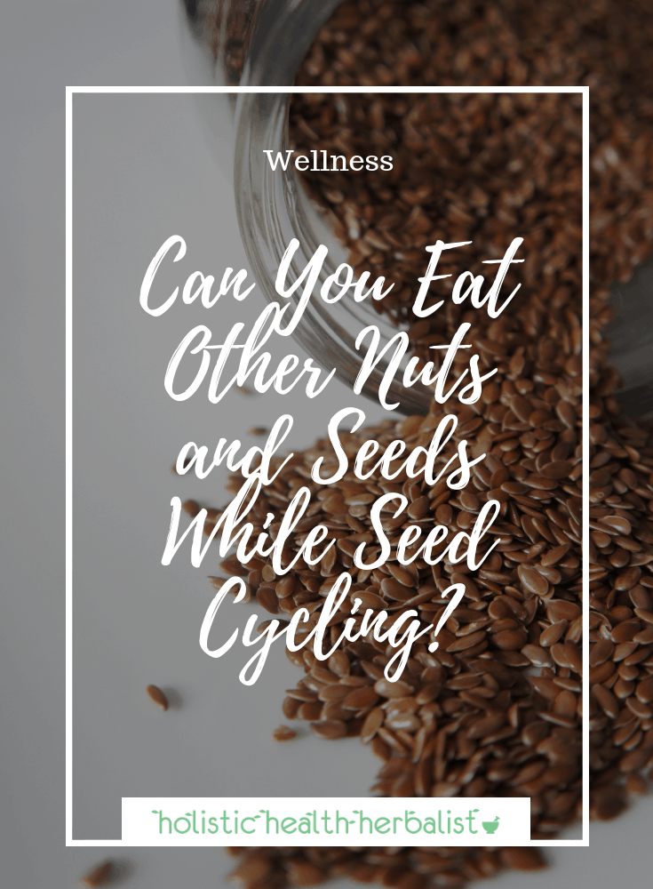 Can You Eat Other Nuts and Seeds While Seed Cycling? - Nuts and seeds are known to contain phytoestrogens and lignans, but are they enough to hamper seed cycling?