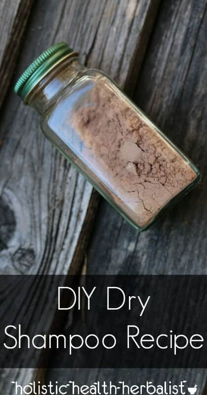 DIY Dry Shampoo Recipe - Learn how make an effective dry shampoo that sucks up oil, sweat, and grime.