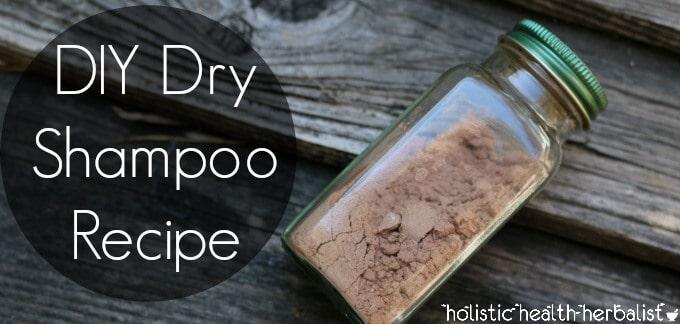 How to make homemade dry shampoo.
