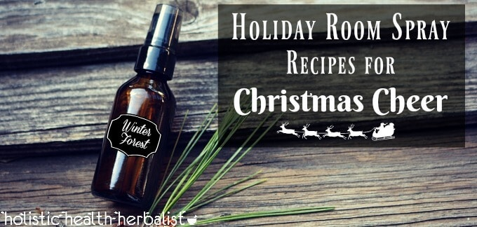 Holiday Room Spray Recipes for Christmas Cheer