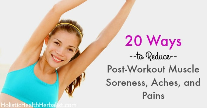 How to reduce post-workout muscle soreness