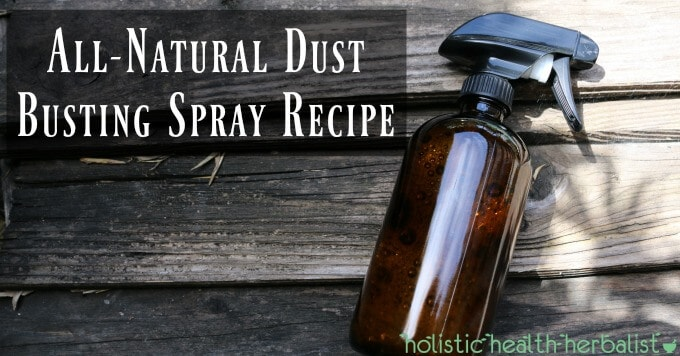 All-Natural Dust Busting Spray Recipe