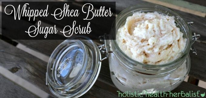 Whipped Shea Butter Sugar Scrub