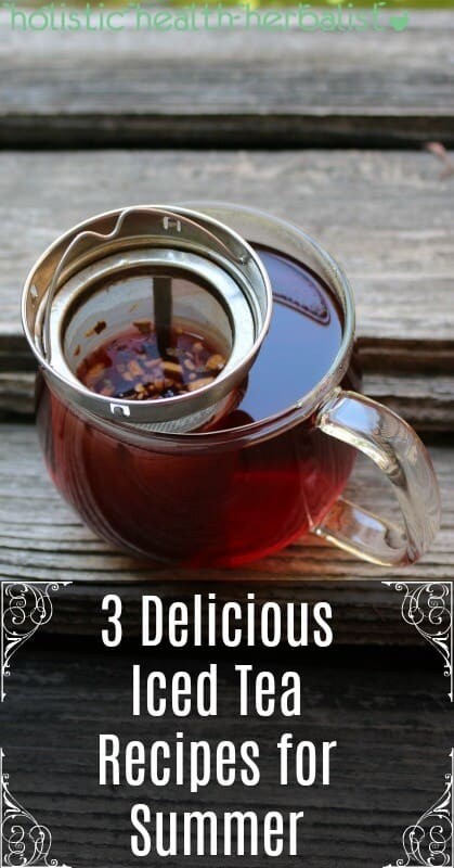 3 Delicious Iced Tea Recipes for Summer - Learn how to make lemon infused black or green tea, a hibiscus cooler, and pineapple black tea with a coconut water twist!