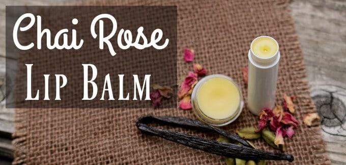 Chai Rose Lip Balm