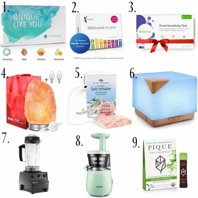 Gift Guide 2018 health