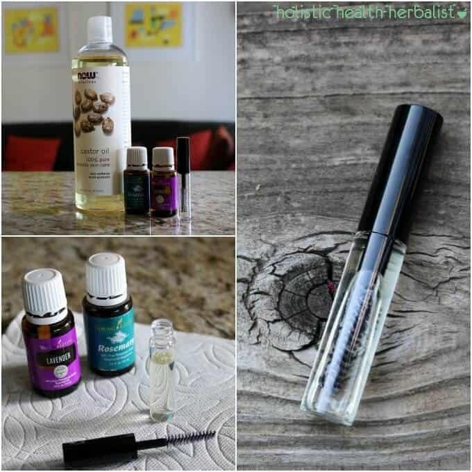 How to Make Lavender Rosemary Eyelash Growth Serum