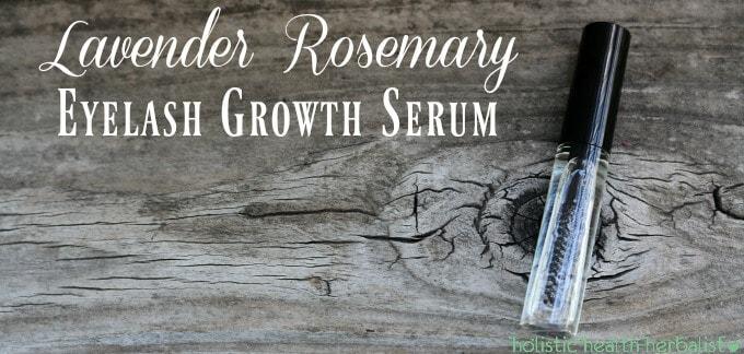 Lavender Rosemary Eyelash Growth Serum