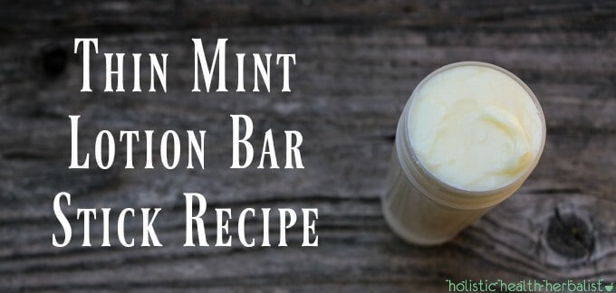Thin Mint Lotion Bar Stick Recipe