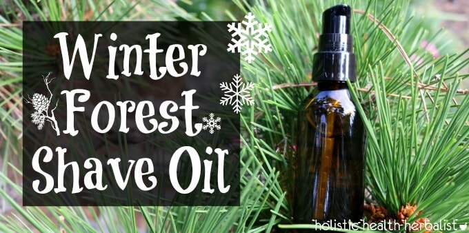 Winter Forest Shave Oil