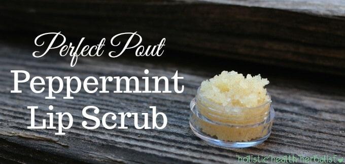 Perfect Pout Peppermint Lip Scrub