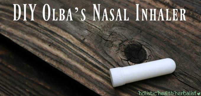 Olba's Nasal Inhaler