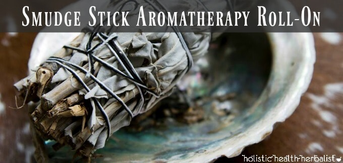 Smudge Stick Aromatherapy Roll-On