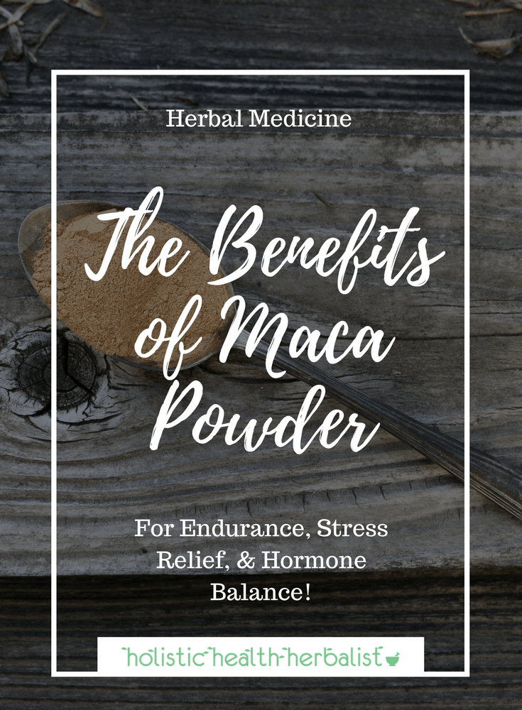 The Benefits of Maca Powder - Learn about the benefits of this fabled root and how it can help you lower stress, reduce adrenal burnout, improve memory, and increase energy!