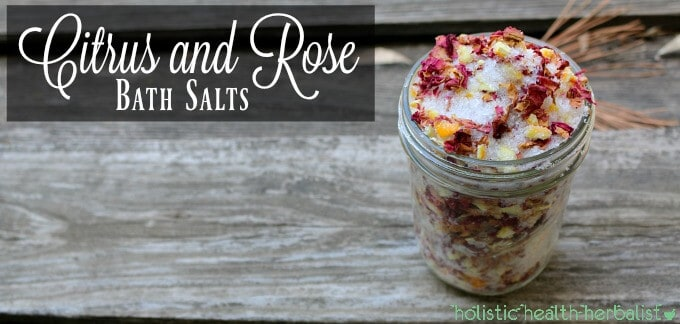 Citrus and Rose Bath Salts