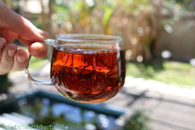 pique tea - earl grey