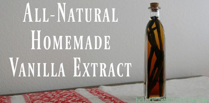 All-Natural Homemade Vanilla Extract