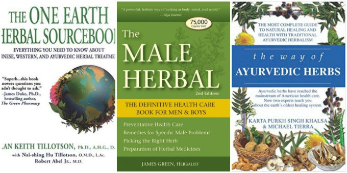 120+ Books for Your Herbal Library