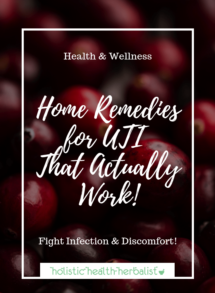 Home Remedies for UTIThat Actually Work! - Learn how to treat a UTI naturally using supplements and herbs to help reduce inflammation, prevent bacteria from thriving, and heal the bladder.
