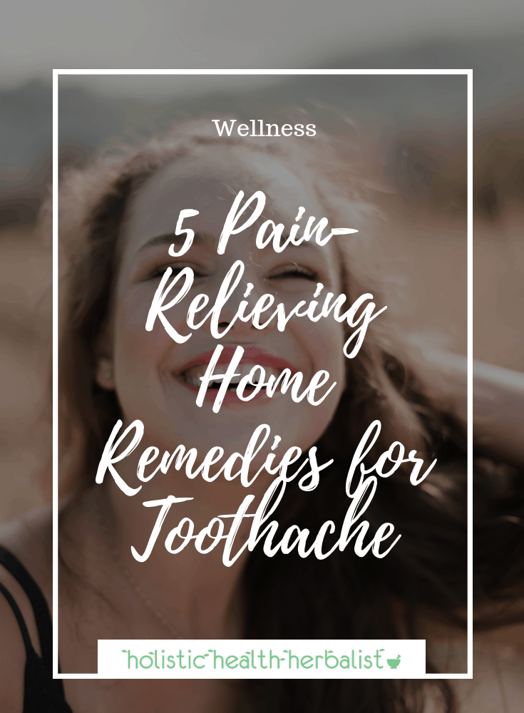 How to get rid of a toothache naturally- picture of girl smiling